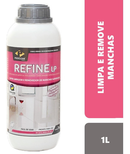 Refine Lp - Limpa Piso Remove Manchas De Porcelanato Marmore