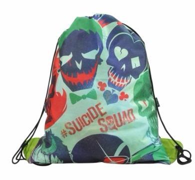 Saco Bolsas Esquadrão Suicida Lona Original