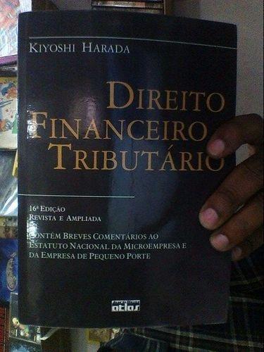 Livro Direito Financeiro E Tributário Kiyoshi Harada
