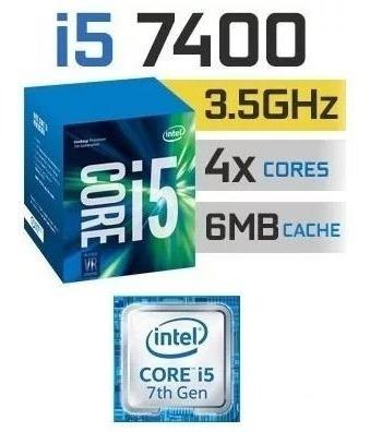 Processador Core I5 7400 3.5ghz 6mb Cache - 4 Núcleos