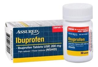 Pastilla De Freno Ibuprofeno Assured Importada.