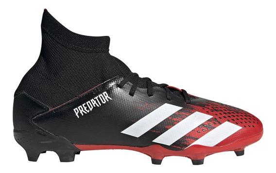 Botines Con Tapones adidas Predator 20.3 Fg J Niño Rj/ng