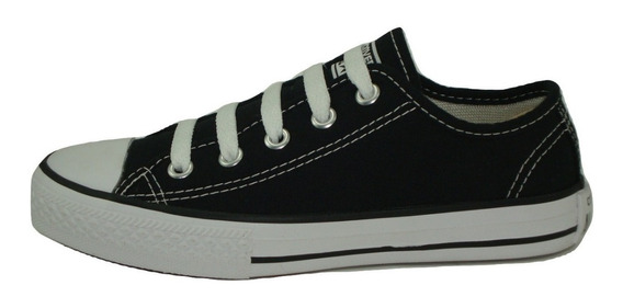 Tênis Converse All Star Kids Ct As Core Ox Preto