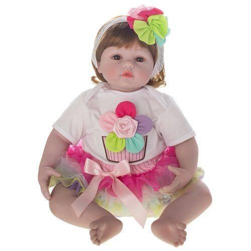 Boneca Laura Baby Flora - Bebe Reborn