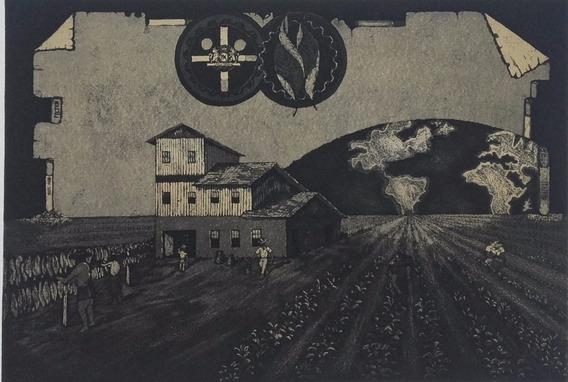 Sidney Goncalves , Litografia Premiadada , 60 X 40 Cm !!!