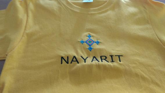 Playera Bordada Nayarit