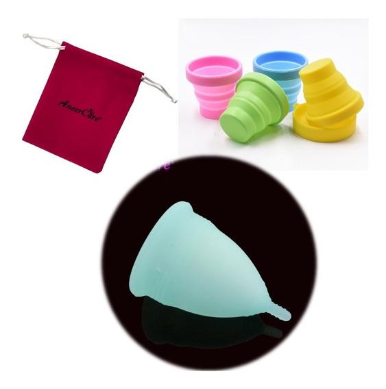 Copa Menstrual Con Vaso Esterilizador