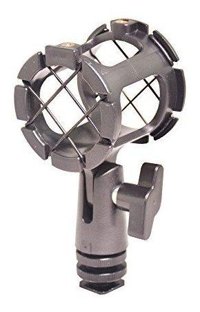 Bestshoot Microfono Shockmount Adaptador De Zapata De Contac
