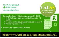 Capacitacion In House Excel Para Empresas