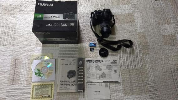 Câmera Fotográfica Digital Fujifilm Finepix S9100 S9600