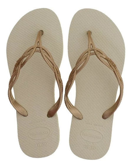 Chinelo Havaianas Flash Sweet Bege Original