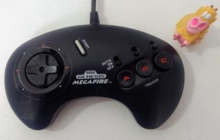 Control Sega Genesis Mega Fire Turbo * Mundo Abierto Vg *