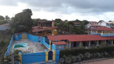 Pousada Comercial À Venda, Praia Do Amor, Conde - Po0001. - Po0001