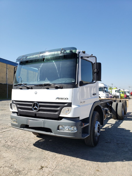 Mercedes-benz Mb 2425 6x2 Atego 2012 Chassi / Financiamos