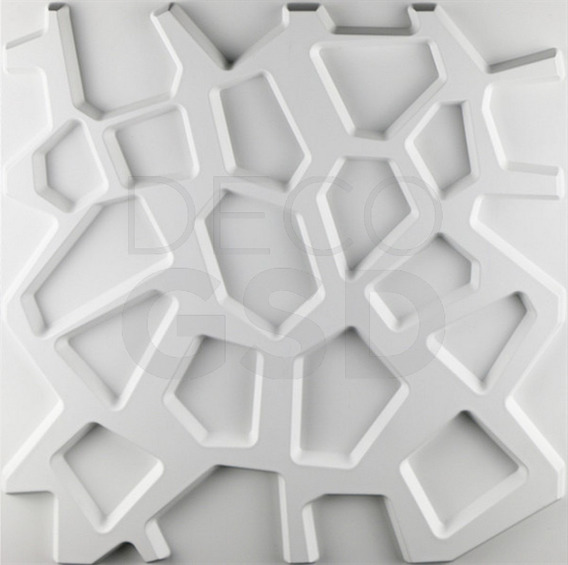 Revestimiento Placa 3d Pvc Panel Techo Pared 50x50 D067