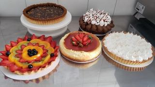 Mesa Dulce 30/35 Personas Brownie, Lemon Pie, Frutal Y +