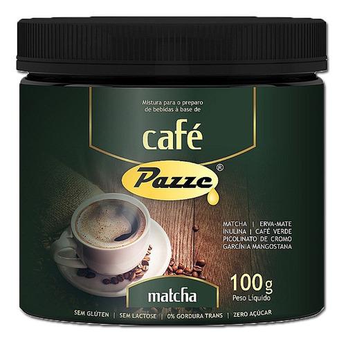 Café Instântaneo Café Matcha Pazze 100g