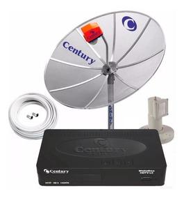 Parabolica Century Antena 1,5 Receptor Digital Hd Lnbf Cabo