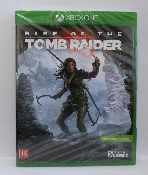 Rise Of The Tomb Raider Xbox One Novo Lacrado Midia Fisica