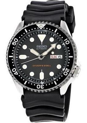 Relógio Seiko Skx013k1 Black Dial Automatico Original