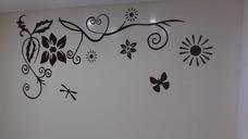 Preciosos Murales Y Texturas...diferentes Tecnicas