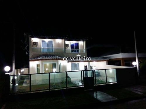 Casa Residencial À Venda, Cajueiros (itaipuaçu), Maricá. - Ca3182