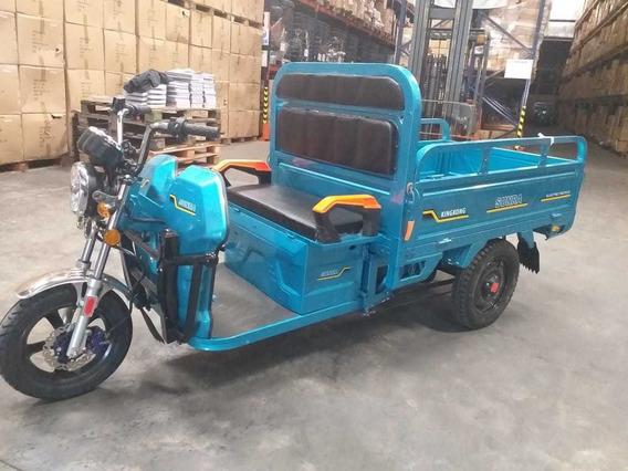Triciclo Electrico Carga Sunra Transporte Tricargo King Kong