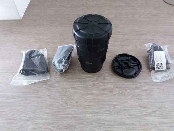 Tampa Universal Para Lente De Câmera Sony Nikon Canon Fuji