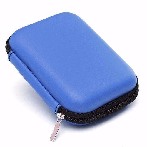 Capa Azul Hd Externo Usb Para Seagate Samsung Wd