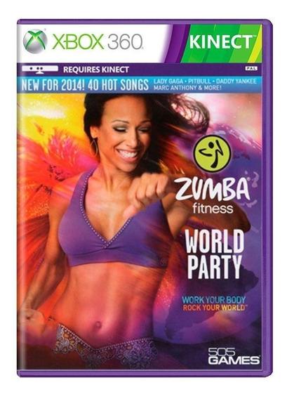 Jogo Zumba Fitness: World Party - Xbox 360
