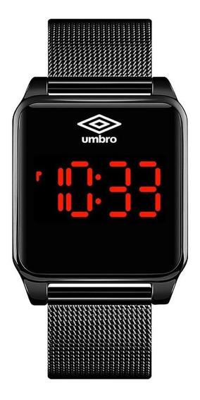 Relógio Pulso Digital Umbro Touch Screen Pulseira Metal