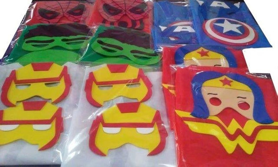 Capas Superheroes,paw Patrol,power Rangers,star Wars, Etc