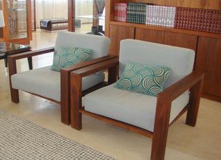 Mobiliario Exterior Aluminio Madera Teka Parota Mesa Salas