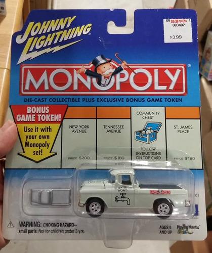 Johnny Lightning Monopoly 1966 Chevy Cameo 1:64 Envio Gratis