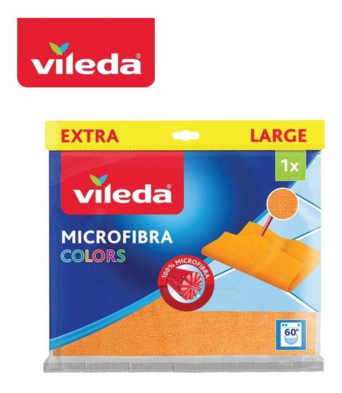 Paño Pisos Vileda 100% Microfibra