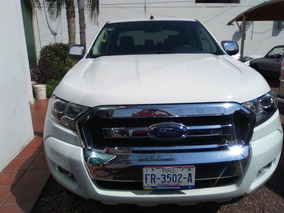 Ford Ranger 2017 Blanca 3.2 Xlt Diésel Cabina Doble 4x4 At