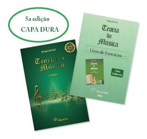 Kit Livros Teoria Da Música - Bohumil Med