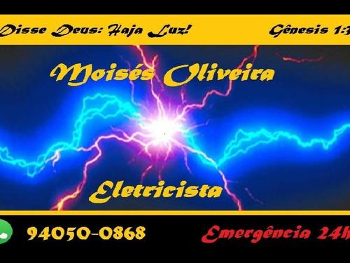 Eletricista Instalador Emergencia 24h Residencial Comercial
