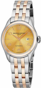 Relógio Feminino Baume & Mercier Clifton Novo Original Luxo