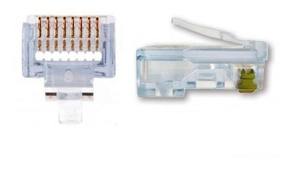 50 Pack Platinum Tools EZ-RJ45 Cat6 END Connector Ethernet