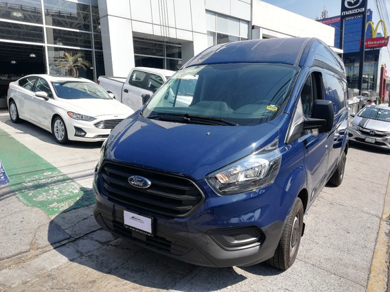 Ford Transit 2.2 Van Larga Techo Alto Aa Custom Mt 2019