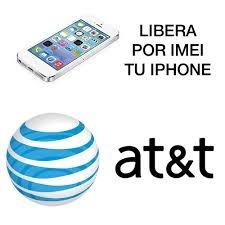 Liberacion At&t Por Imei Iphone 4s/5/5c/5s/6/6+/6s/6s+/se/7/