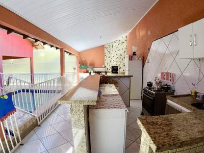 Casa Com Piscina E Churrasqueira - 21568