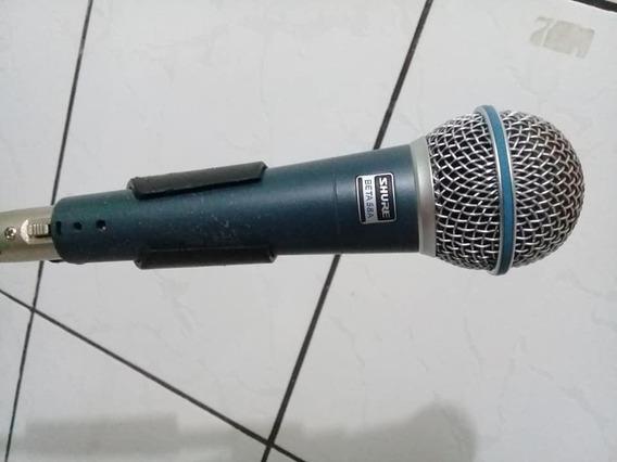 Microfone Shure Beta 58 A ( Made In México ) Original Td Bom