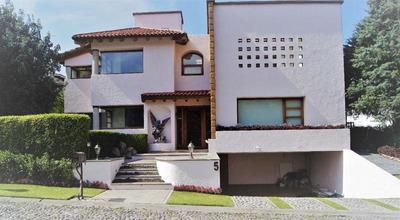Club De Golf Los Encinos, Hermosa Casa En Renta !!!