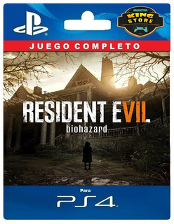 Resident Evil 7 Biohazard Ps4   Digital Oficial 1º