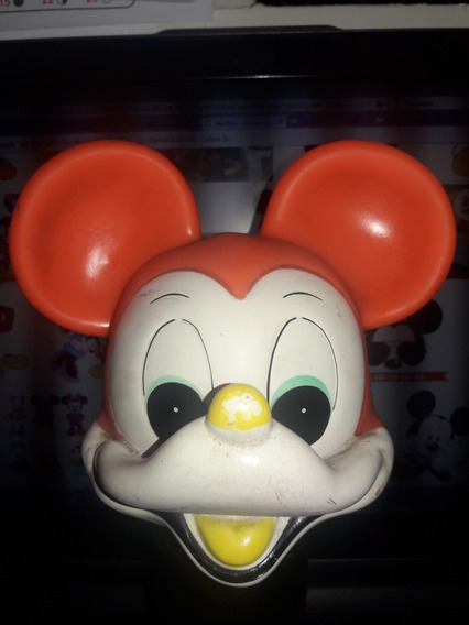 Mickey Disney Cabeça Estrela Antigo Decada 70