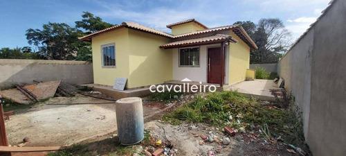 Casa Com 3 Dormitórios À Venda, 90 M² Por São José Do Imbassaí - Maricá/rj - Ca4676