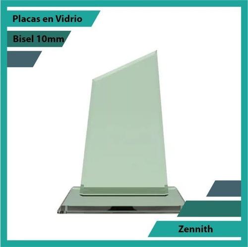 Placas Conmemorativas En Vidrio Zennith Plano