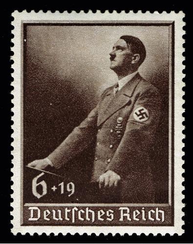 Imagen 1 de 1 de 30 Alemania Nazi 3º Reich Adolf Hitler 1939 Timbre, 1º Mayo